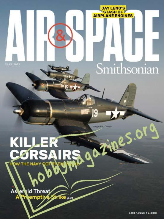 Air & Space Smithsonian – June 2021 (Vol.36 No.2)