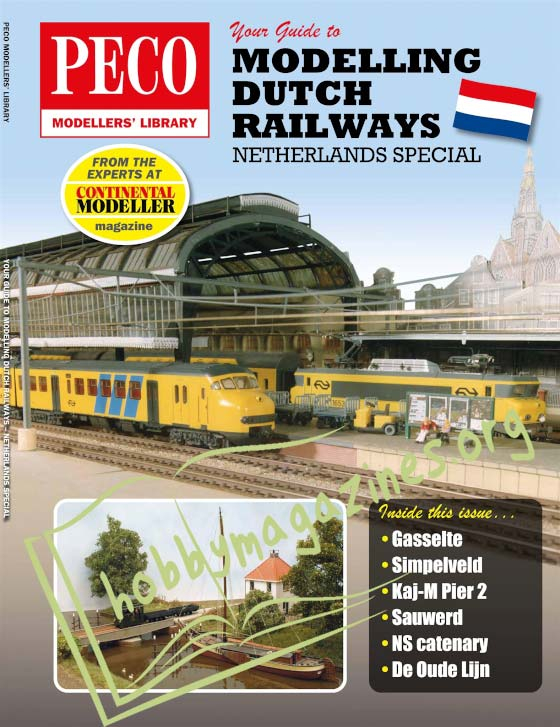 PECO Modellers' Library - Your Guide to Modelling Dutch Railways