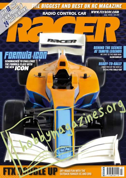 Radio Control Car Racer - July 2021 (Vol.24 No.9)