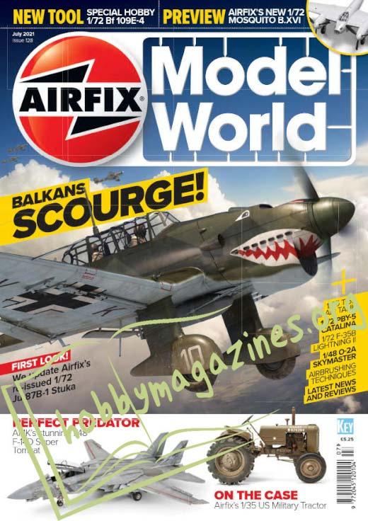 Airfix Model World - July 2021 ( Iss.128)