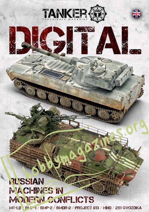 Tanker Techniques Magazine Digital: Ruaaian Machines in Modern Conflicts