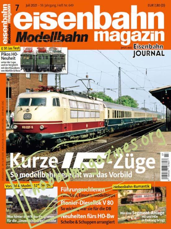Eisenbahn Magazin – Juli 2021 (Nr.649)