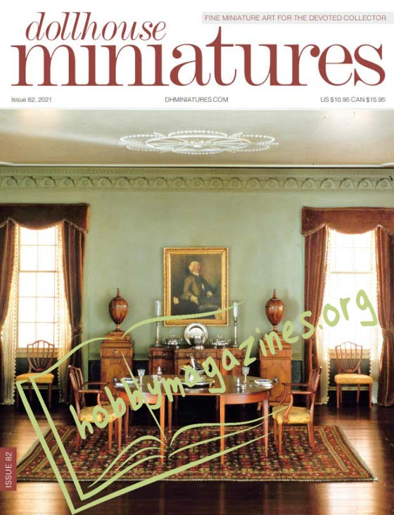 Dollhouse Miniatures  Issue 82,2021