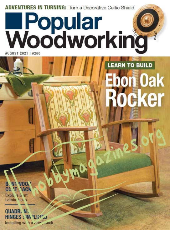 Popular Woodworking - August 2021 (Iss.260)