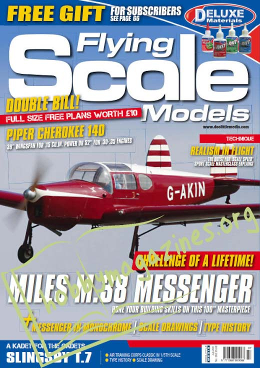 Flying Scale Models - July 2021 (Iss.260)