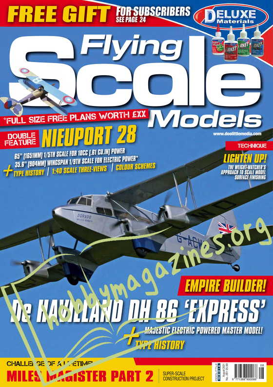 Flying Scale Models - August 2021