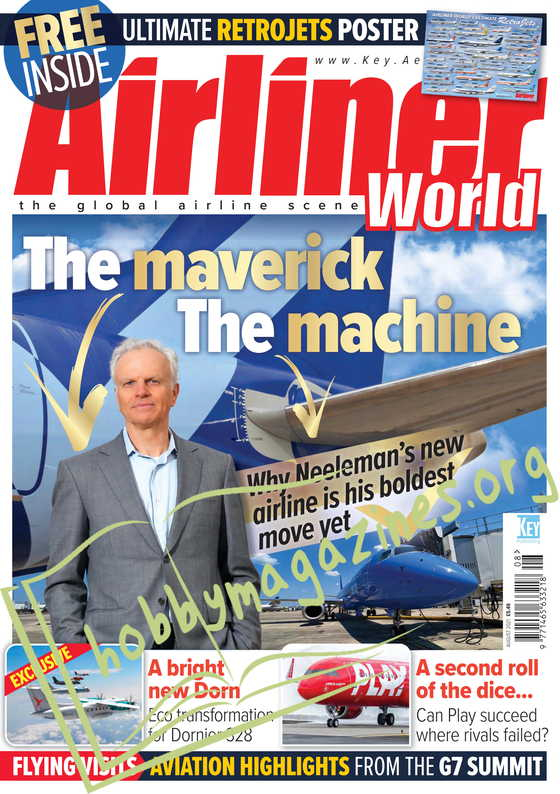 Airliner World - August 2021
