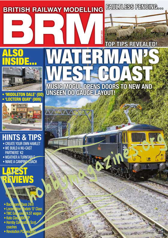 British Railway Modelling - August 2021