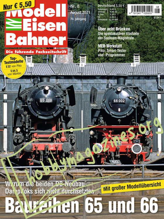 ModellEisenBahner - August 2021