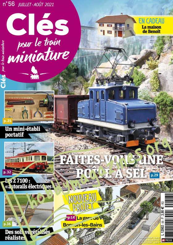 Clés pour le train miniature - Juillet/Août 2021