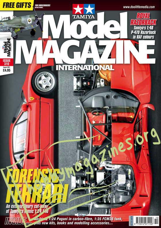 Tamiya Model Magazine - August 2021
