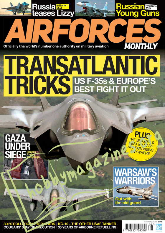 Air Forces Monthly - August 2021