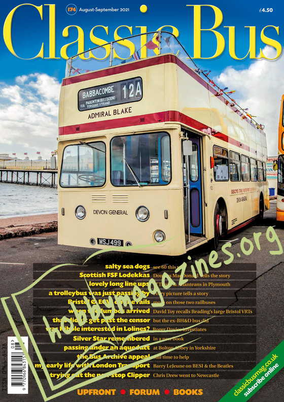 Classic Bus -  August/Sepember 2021