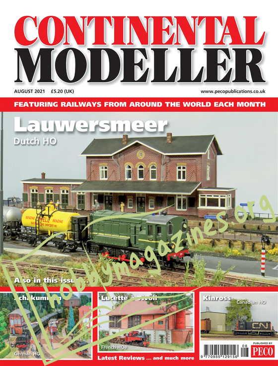 Continental Modeller - August 2021
