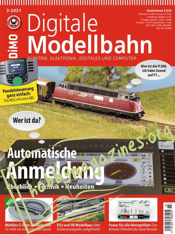 Digitale Modellbahn 2021-03