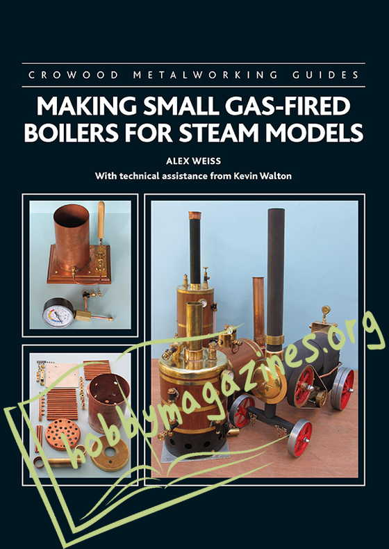 Making Small Gas-Fierd Boilers for Steam Models (ePub)