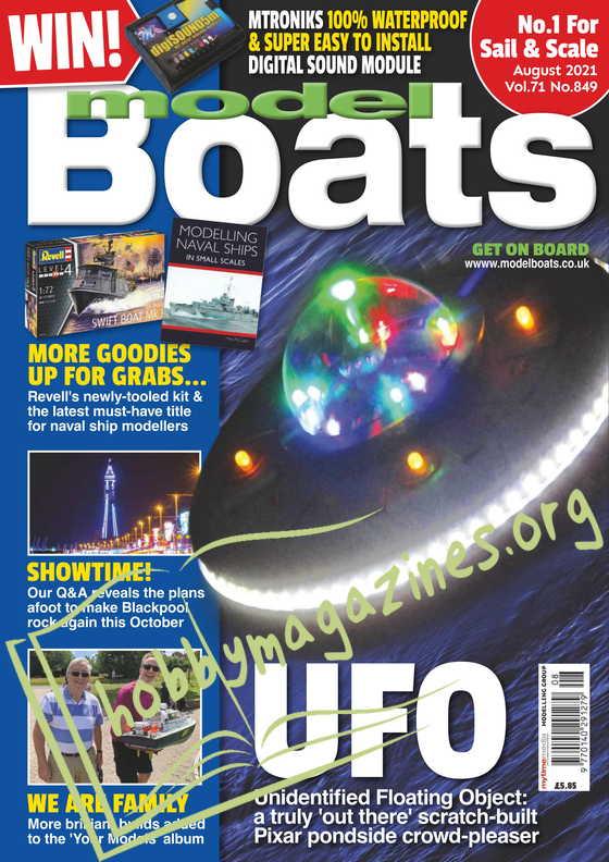 Model Boats - August 2021