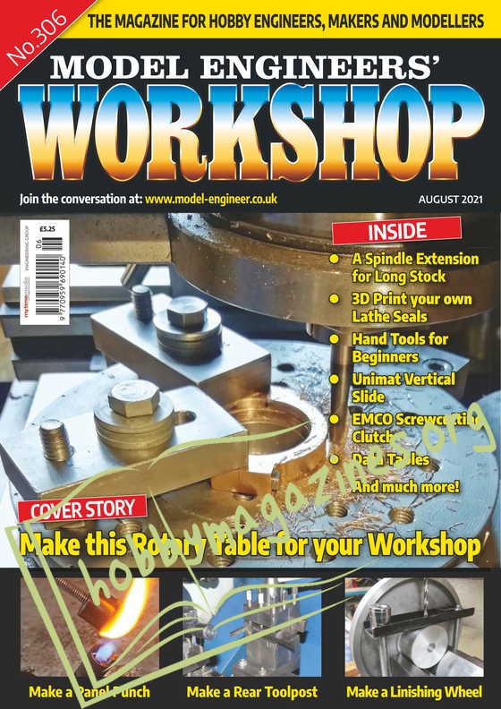 Model Engineers' Workshop - August 2021