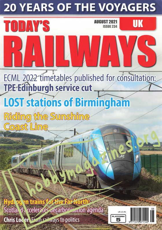 Today's Railways UK - August 2021