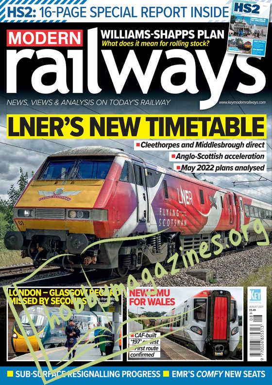 Modern Railways - August 2021
