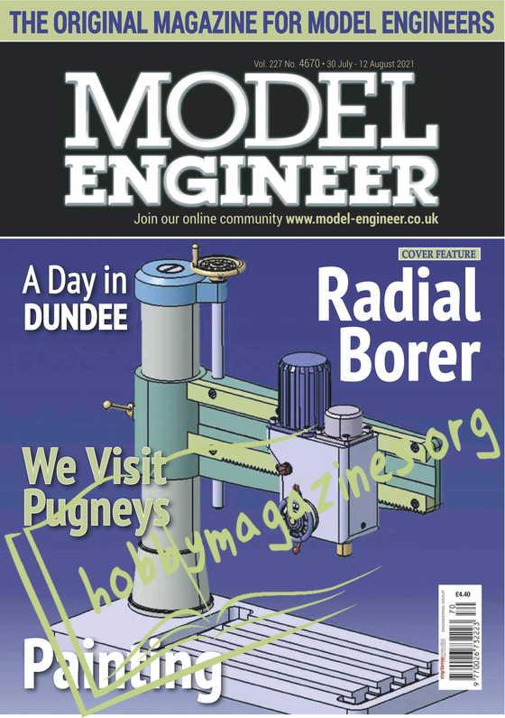 Model Engineer 30 July-12 August 2021