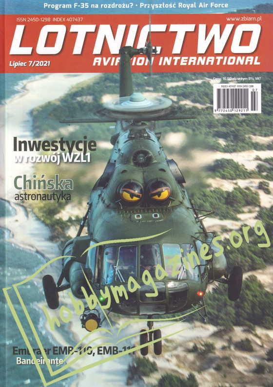 Lotnictwo Aviation International 2021-07