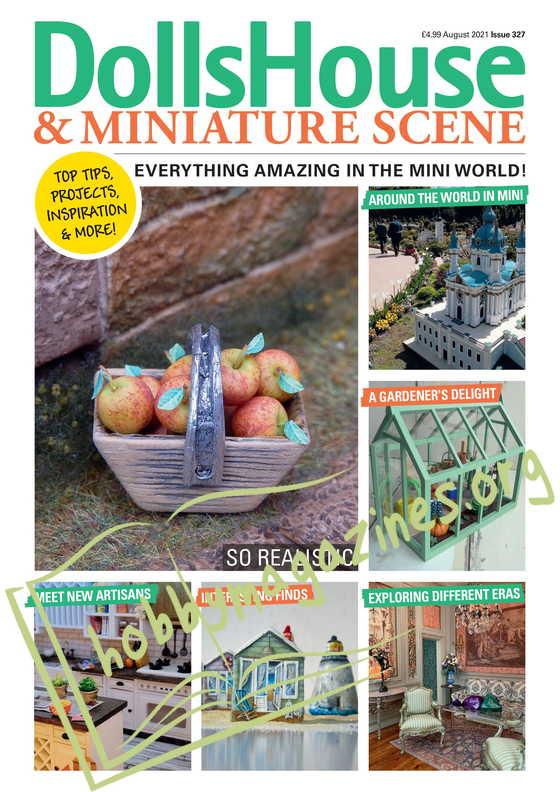 Dolls House & Miniature Scene - August 2021