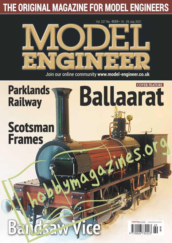 Model Engineer - 16 July 2021