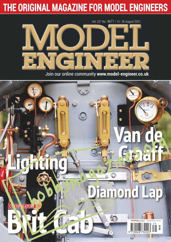 Model Engineer - 13 August 2021