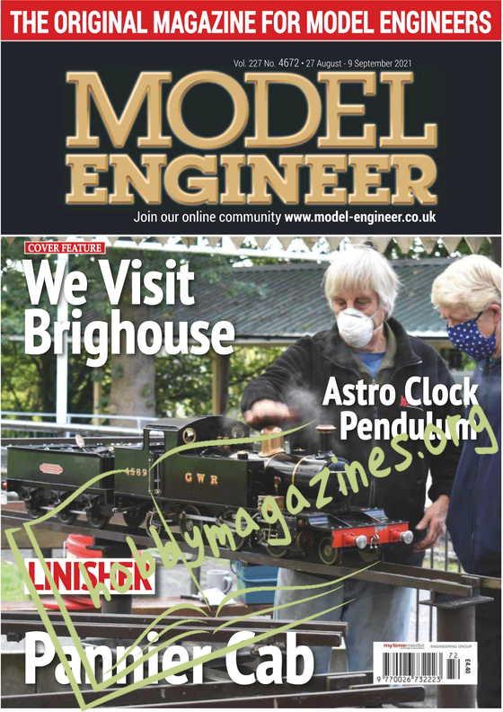 Model Engineer - 27 August 2021