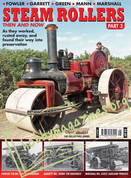 Steam Rollers Then and Now Part 3