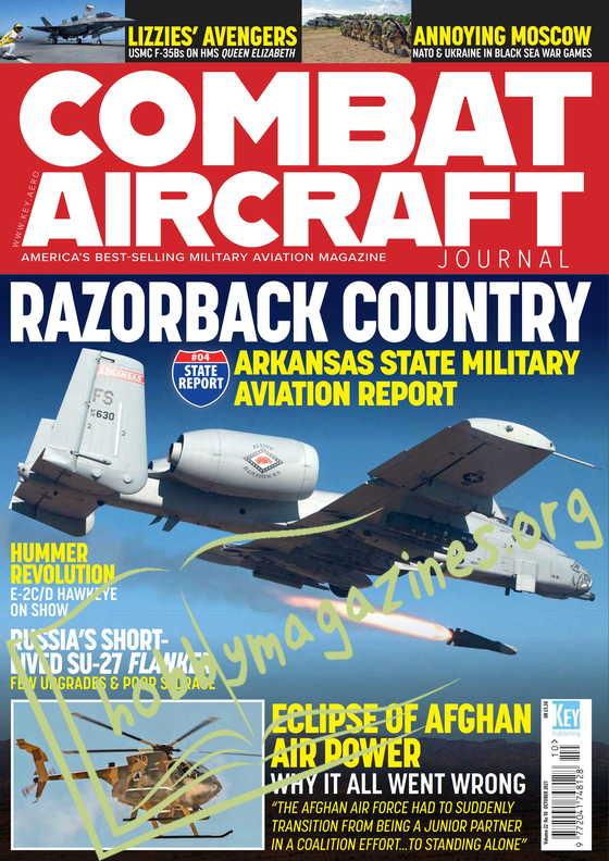 Combat Aircraft - October 2021