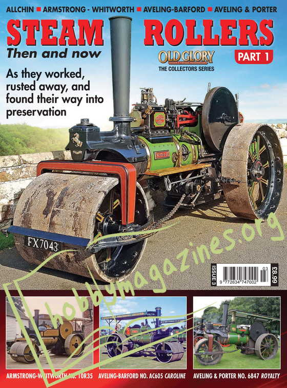 Steam Rollers Then and Now Part 1