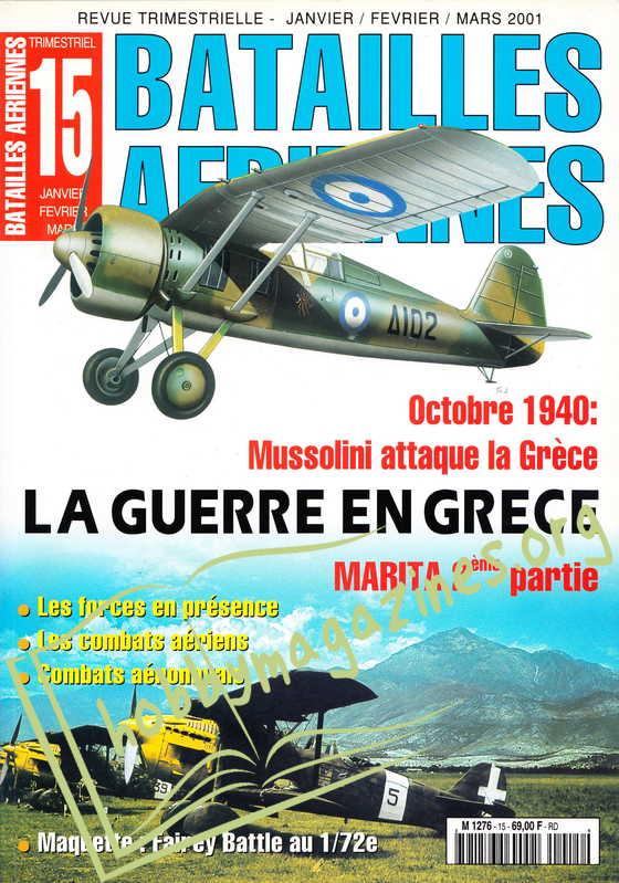 Batailles Aeriennes Numero 15