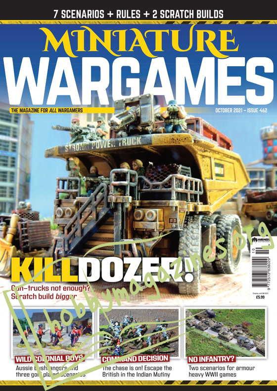 Miniature Wargames - October 2021