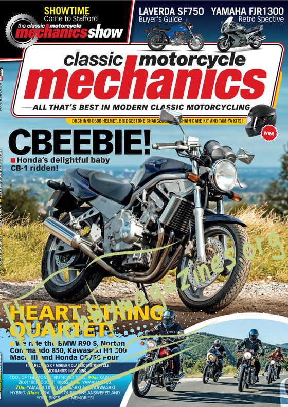Classic Motorcycle Mechanics - October 2021