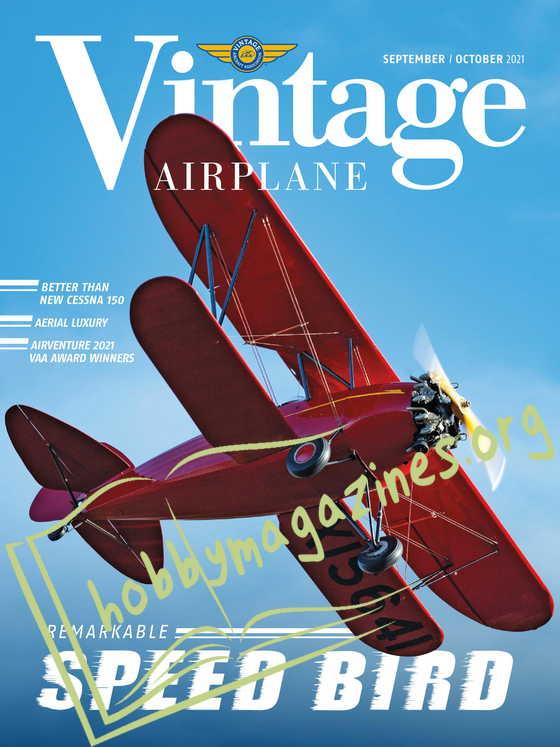 Vintage Airplane - September/October 2021