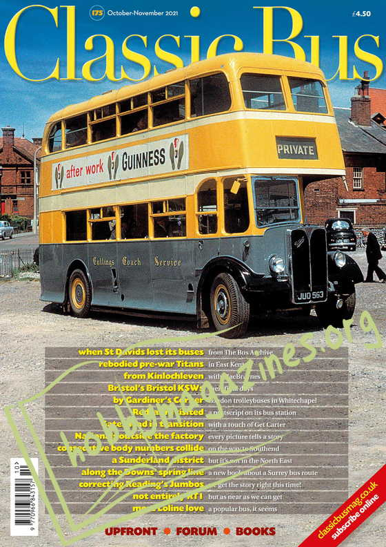 Classic Bus - October/November 2021