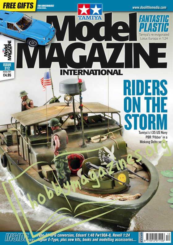 Tamiya Model Magazine International - October 2021