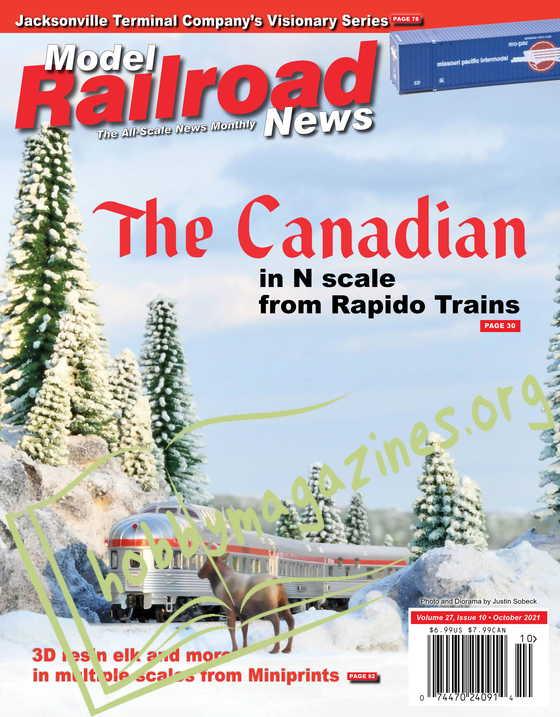 Model Railroad News - October 2021