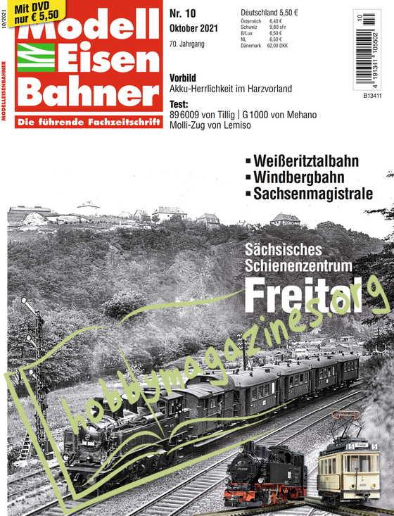 ModellEisenBahner - Oktober 2021