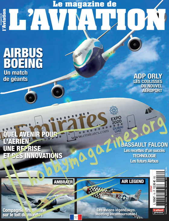 Le Magazine de l'Aviation - Octobre/Novembre/Decembre 2021