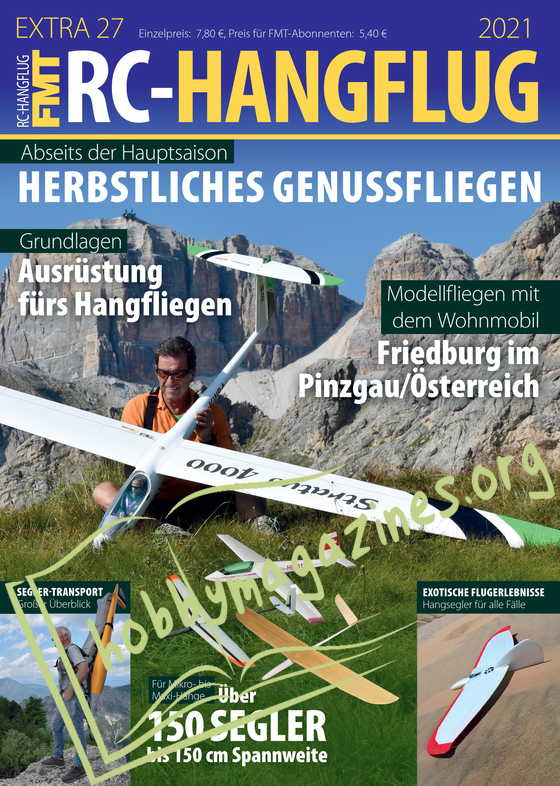 Flugmodell und Technik Extra 27 RC-Hangflug 2021