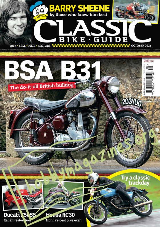 Classic Bike Guide - October 2021