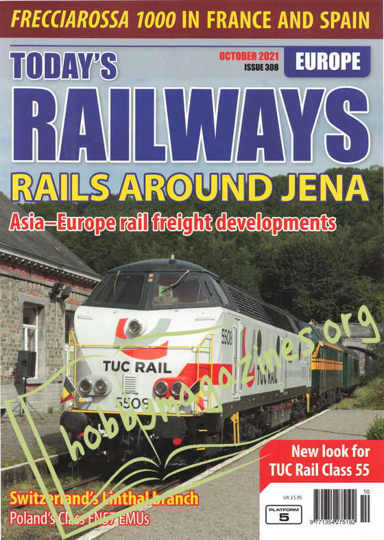 Today's Railways Europe - October 2021