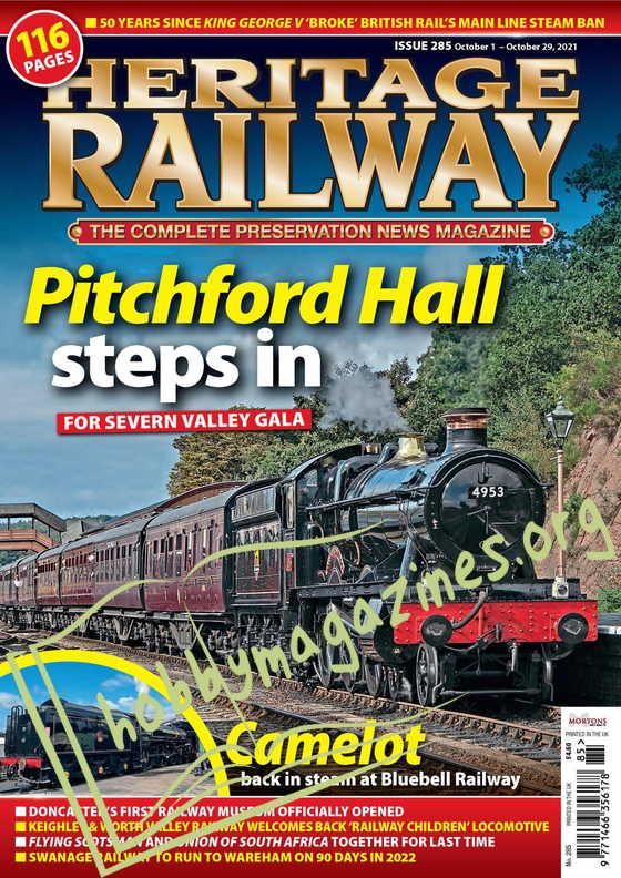 Heritage Railway - October 01, 2021