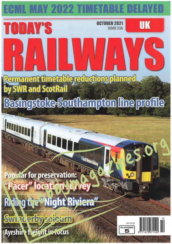 Today's Railways UK - October 2021