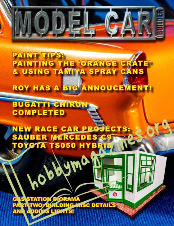 Model Car Builder - Summer 2021