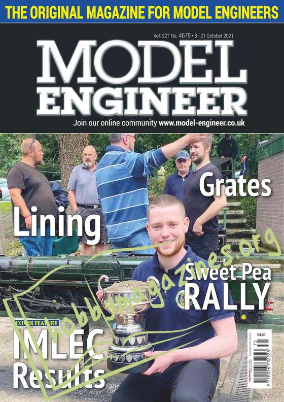 Model Engineer - 8 October 2021