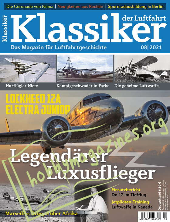 Klassiker der Luftfahrt 2021-08
